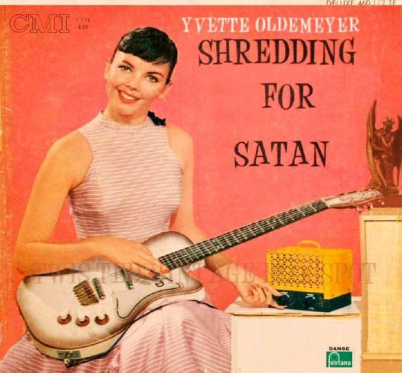 Shredding For Satan