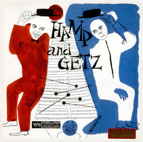 1956 Lionel Hampton and Stan Getz