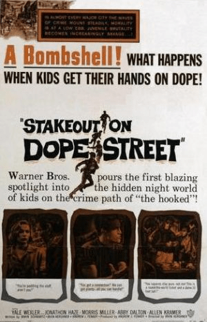 Stakeout-on-Dope-Street-Poster