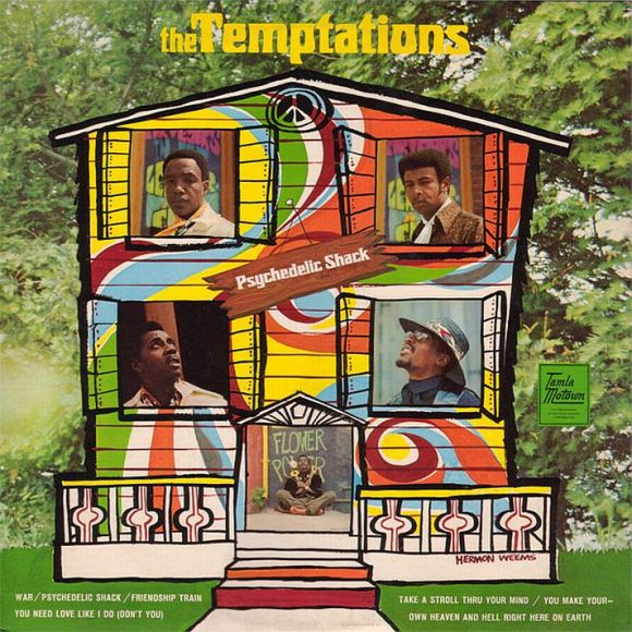 The Temptations - Psychedelic Shack -