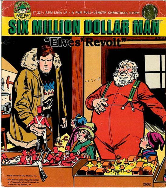 Six Million Dollar Man Xmas-2