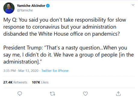 Screenshot_2020-03-14 Yamiche Alcindor on Twitter My Q You said you don't take responsibility for slow response to coronavi[...]