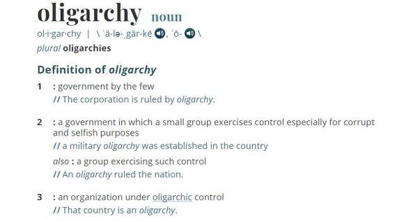 Oligarchy Definition