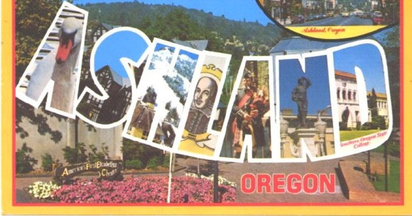 Ashland Oregon Postcard