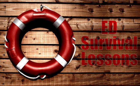 Survival lessons for emergency medicine