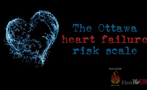 The Ottawa heart failure risk scale