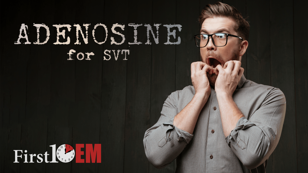 Would you choose adenosine?