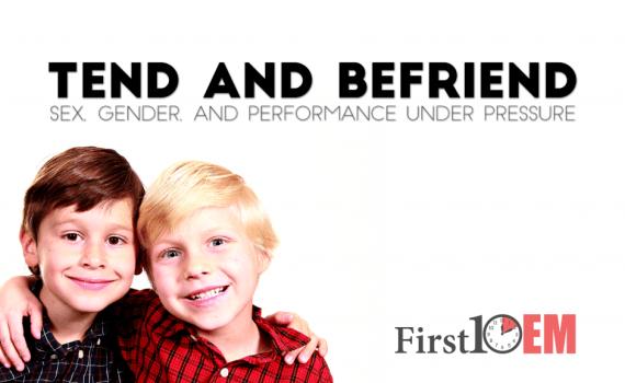 Tend and Befriend