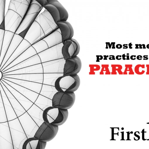 Most medical practices are not parachutes