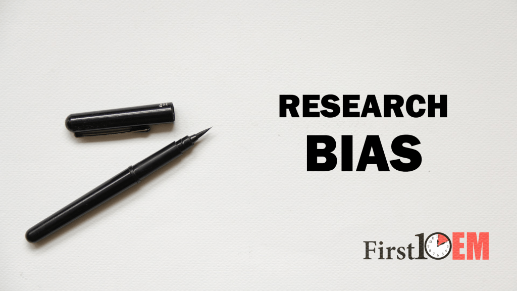 Bias in medical research