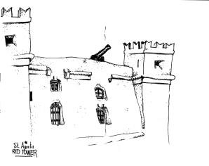 Saint Agatha's Red Tower