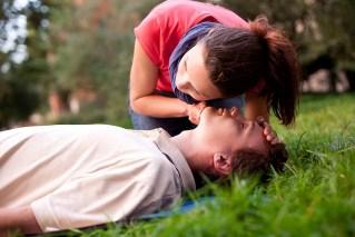 management of an unconscious adult