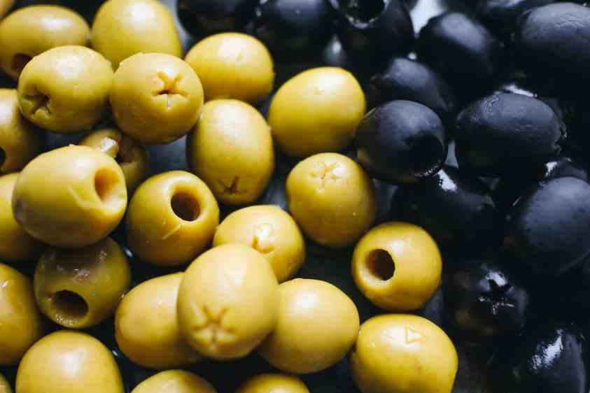 close up photo of olives