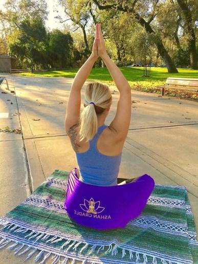 Ashan Yoga Seat Strap