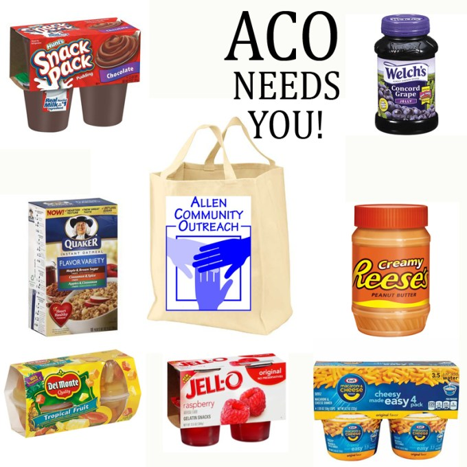 The Aco Food Pantry Needs You First United Methodist Of Allen