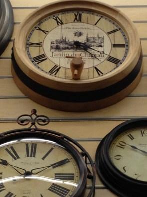 time wine barrel