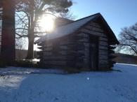 Replica cabin in Valley Forge