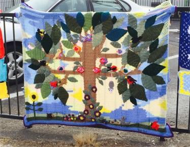 Colls crochet tree