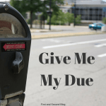 Give Me My Due Or Else...a post about doing our God-given duty for His glory, not for our reward or recognition