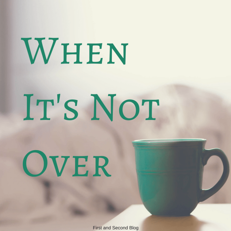 Sometimes hardship lasts longer when we think. When it's not over yet, there is still hope.