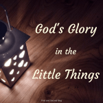A post examining Jesus' example of God making the small great