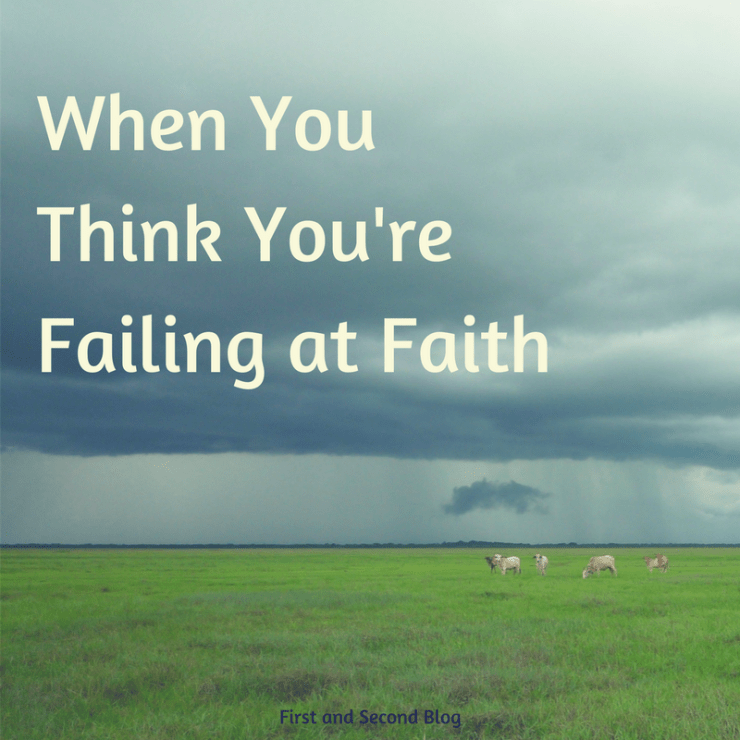 Faith failure? God has encouragement for you just as He did for Elijah...