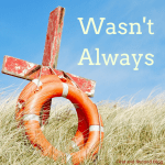 Easter reflection about how no Christian was always saved and how we find our beginning and our end in Jesus.