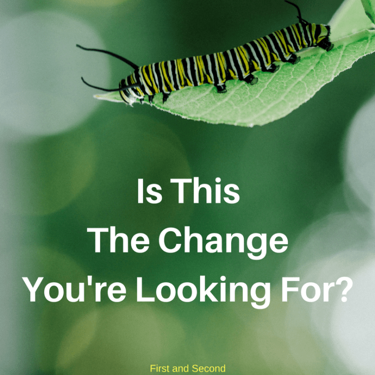 Often we want our circumstances to change, but God is more focused on changing us!
