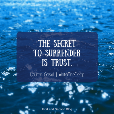 Quote from Into the Deep by Lauren Gaskill