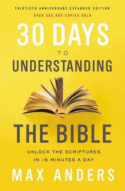 Book review of 30 Days to Understanding the Bible