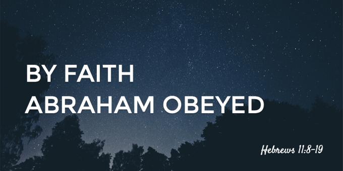 Abraham Obeyed