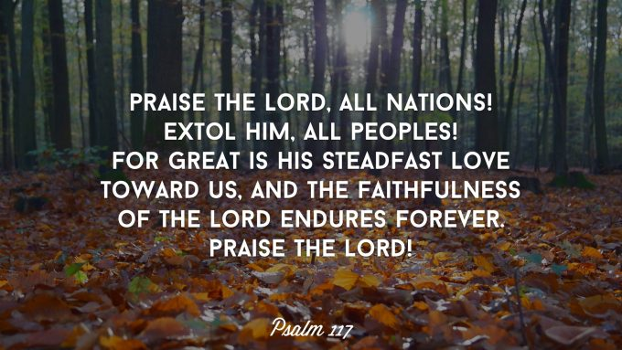 Praise the Lord All Nations