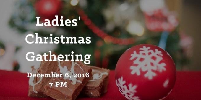 Ladies' Christmas Gathering