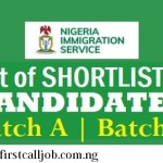 Nigeria Immigration Service List Of 2020 Successful Applicants – Check NIS List Here