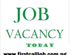 First Bank Recruitment 2020