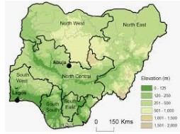 Nigeria Six geopolitical zones