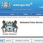 BOTSWANA POLICE SERVICE FORM 2020  — CLICK HERE TO APPLY TODAY
