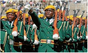 Zimbabwe Army Recruitment 2019
