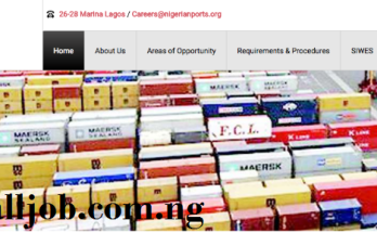Nigerian Ports Authority Recruitment