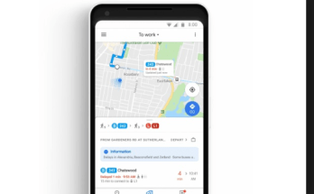 Google Maps in Real Time