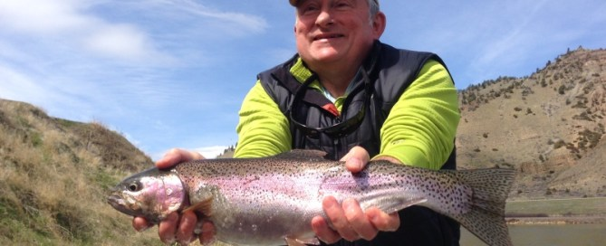 missouri river, rainbow trout, spring special, first cast outfitters