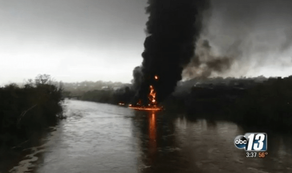 james river, oil spill, lynchburg, va