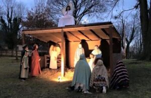 Our Living Nativity in 2015.