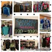 Clothing Room @ First Christian Church