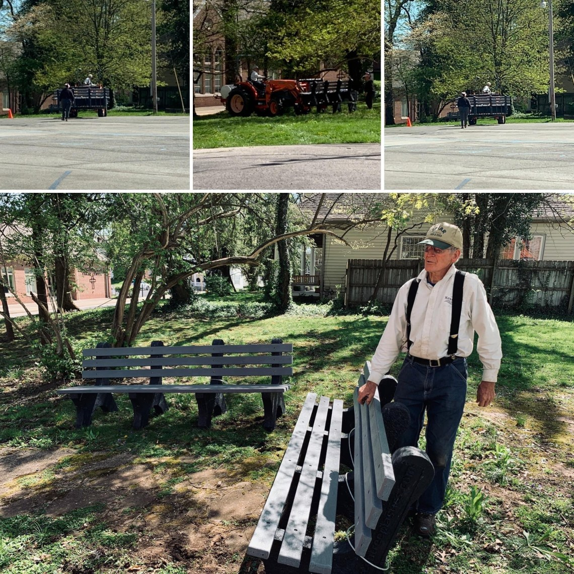 Placing Of The Benches on FCC  Property