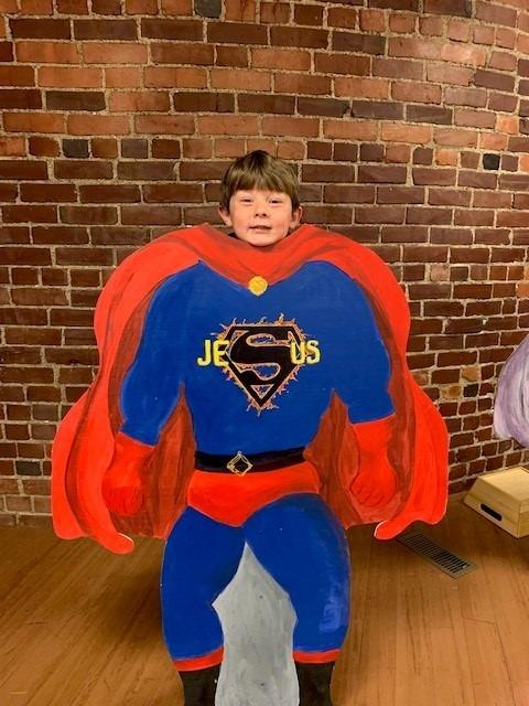 Superhero New Testament youth group