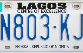 Cost of Vehicle Registration in Lagos