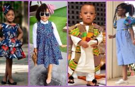 Latest Ankara Styles for Children