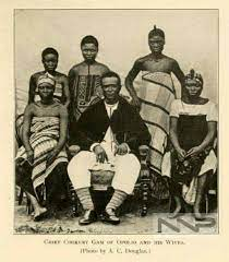 King Jaja of Opobo With Wives