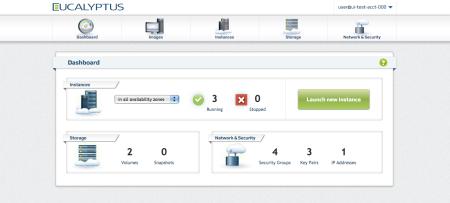 Eucalyptus Console   Eucalyptus Private AWS-compatible Cloud